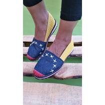 Zapatos, Cocuiza, Calzado, Alpargata, Decorada, Damas Jeans