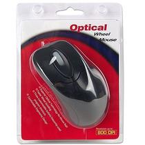Mouse Raton Optico 800dpi Negro Economico