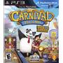 Jogo Sony Playstation 3 Carnival Island Requer Move De Ps3