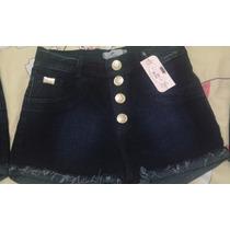 Shorts Jeans Sexy Levanta Bumbum Cintura Alta