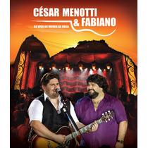 César Menotti E Fabiano - Ao Vivo No Morro Da Urca - Blu-ray