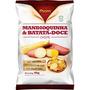 4 Pacotes - Batata Doce E Mandioquinha Chips Fhom 45g