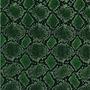 Animal Print - AP14 - Piel Serpiente Verde - Ancho 0,50m