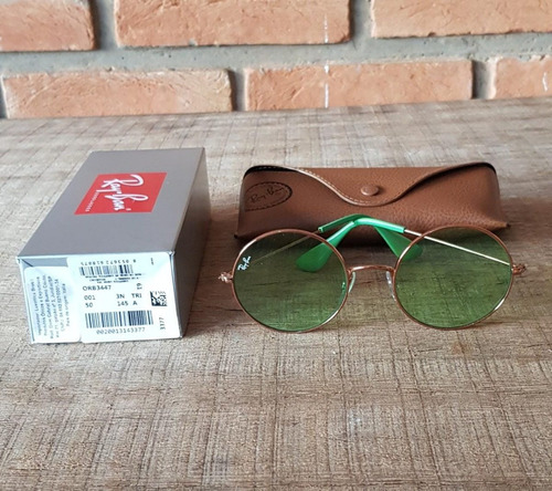 e74637858bd5b Óculos Ray Ban Ja-jo Rb3592 Verde Transparente Black Friday - R  350,00 em  Mercado Livre