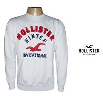 Blusa Moletom Hollister Importada Eua Original Frete Grátis