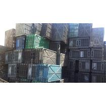 Cajon De Plastico Duro Apilable X10 Unidades