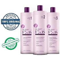 Kit Plastica Dos Fios Selagem Original 3 Produtos #promoção