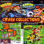 3x1 Crash Bandicoot Collection Patch Ps2/ Pc