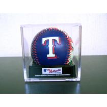 Cubo Exhibidor Oficial Para Pelota De Beisbol Rawlings