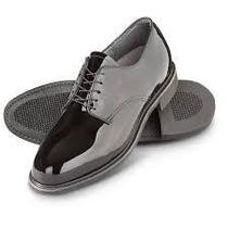 Zapatos Patente Para Uniforme Militares Nuevos