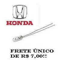 Lampada Painel New Civic, Honda Fit E Honda City