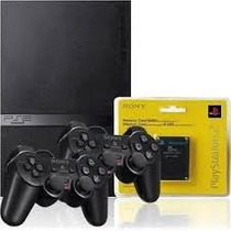 Playstation 2 Destravado 2 Controles + Memory Card +1 Brinde