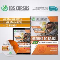 Apostila Impressa Soldado Fuzileiro Naval Marinha Do Brasil