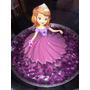 Molde Jumbo Gelatina Artistica Vestido Princesa Sofia Disney