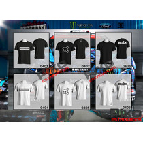 Remeras Estampadas Ken Block - Hoonigan + Calco De Regalo