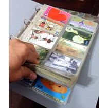 Coleção De Cartões Telefonico 520 Unidades
