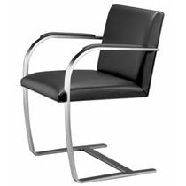 Cadeira Brno Barra Chata Inox