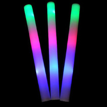 10 Barras Luminosa Led Multicolor Neon Hule Espuma