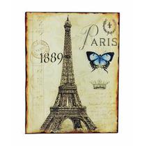 Quadro Quadros De Decoração Parede Decorativo Paris