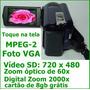 Filmadora Sony Dcr-sr68 720 X 480 Zoom Optico 60x
