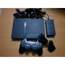 Play Station 2 Slim Color Negro