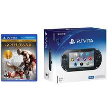 Psvita Ps Vita Wi-fi Slim Com Game God Of War Mídia Fisica