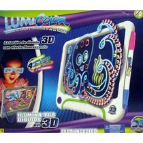 Lumicolor 3d De Kreisel Original Lumi Color Pantalla Pizarra