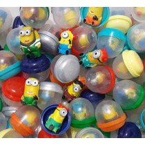 Minions/vending Machine Pct C/100 Capsulas Ideal P/festas