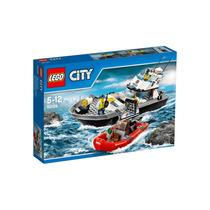 Lego City 60129 Barco De Patrulha Da Polícia 200 Peças