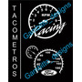 Tacometro Reflectivo Calcomania Ford Fiat Renault Y Mas