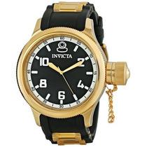 Relógio Invicta 1436 Russian Diver Banhado Ouro 18k Original