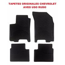 Tapetes Originales Chevrolet Aveo Vinil En Color Negro!