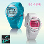 Reloj Mujer Casio Baby-g Bg-169r Varios Colores Violetta