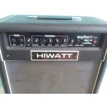 Amplificador Para Bajo Hiwatt Maxwatt 75w