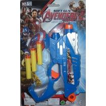 Juguete Lanzador De Avengers, Transformers, Spiderman, Cars