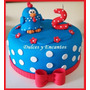 Torta Gallina Pintadita Cupcakes Cumpleaños Fiesta Niños