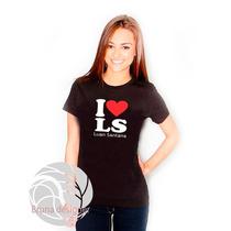 Camiseta Luan Santana I Love Ótima Qualidade!