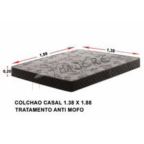 Colchão De Casal D33 138x188 Cm Com 20 Cm De Espessura