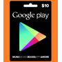 Google Play $10 Usd