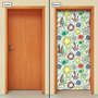 Adesivo Decorativo De Porta - Infantil - Marítimo - 907mlpt