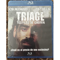 Blue Ray - Triage Testigos De Guerra - Nueva Y Sellada