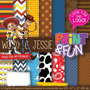 Kit Imprimible Pack Fondos Toy Story Clipart