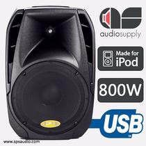 Corneta Amplificada Sps-15p630ui 800 W Puerto Usb Aux Ipod