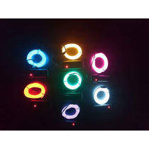 Cable Hilo Wire Led Neon Luminoso Robot Disfraces 5 Metros A