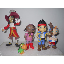 5 Personajes De Jake Y Los Piratas En Porcelana Fría