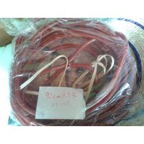 Navidad 3 Pin 2tira Roja Manguera Tiboli Redonda Resiste 11m