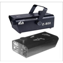 Maquina De Humo Z800 Control Remoto De Disparo 800w