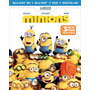 Minions / Bluray 3d + Bluray + Dvd !!