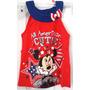 Minnie Mouse Vestido De Algodon Babies 100% Original