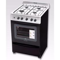 Cocina Escorial Multigas Master Full Acero 56cm Enc Elec Luz